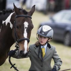 Young lady and her horse (Frank Fullard) Tags: frankfullard fullard horse show pony horseshow ponyshoe young lady helmet dress elegant beauty blaze crossmolina mayo irish ireland