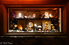 Verbier Shop Front (Phil..........) Tags: verbier fossils shop alps switzerland art night lights