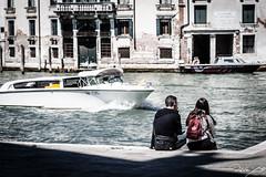 2016-08-11_Venedig - Venice - gritty version_IMG_8006 (dieter_weinelt) Tags: bluesky brcken dieter fiona gondeln kanal kanle melanie sommer2016 sonnenschein touristen venedig venice victoria blauerhimmel boats boote bridges canals gondolas summer2016 sunshine tourists