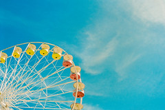. (cam.martin) Tags: ete2016 ferris wheel film leica leicam5 portra400 larochelle