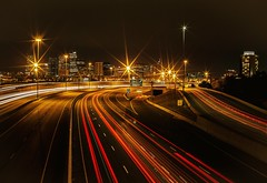 I25 (Blockshadows) Tags: nightscape cityscape 50mmf12 50mm12 f12 12 50mm canon50mmf12 6d canon lights road cityatnight citylife city grimey sharp longexposure lines blacks muted colorado nightowl nightphotography trails lighttrails night highway interstate i25 denver