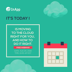 Last few hours to register! (inapp.inc) Tags: cloudcomputing webinar smb cloud cloudstorage cio smallbusiness business clouds enterprise entrepreneur startup cto