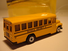 MATCHBOX INTERNATIONAL HARVESTER BUS NO4 SCHOOL DISTRICT 2 1/64 (ambassador84 OVER 6 MILLION VIEWS. :-)) Tags: matchbox internationalharvester bus diecast