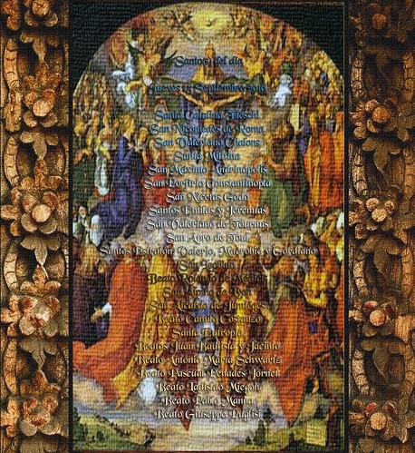 Nuestra Señora de los Dolores.(†Dedicado  al P.Cotallo)