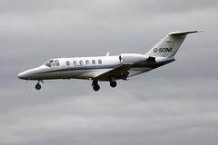 Centreline Air Charter G-SONE, OSL ENGM Gardermoen (Inger Bjrndal Foss) Tags: gsone cessna citationjet osl engm norway gardermoen