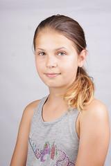 4 (fifa foto) Tags: girl studio portrait teen blonde sweet cute ponytail