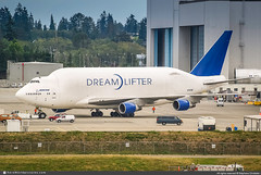 [PAE.2009] #Atlas.Air #5Y #Boeing #B747LCF #N747BC #Dreamlifter #awp (CHRISTELER / AeroWorldpictures Team) Tags: boeing aircraft holding company 7474j6lcf dreamlifter cn 25879 904 n747bc engines 4x pw pw4056 history 01feb1992 first flight pae everett 20mar1992 delivered airchina ca cca reg b2464 22aug2001 tsfd boeingaircraftholdingcompany boe aug2006 cvtd 16sep2006 ferried tpebfi sep2006 aug2010 opby evergreeninternationalairlines ez eia atlasair 5y gti planespotting kpae seattle wa washington usa nikon d80 zoomlenses nikkor 70300vr lr