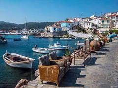 Kokkari-Samos Island (Javiralv) Tags: samos kokkari greece grecia playa puerto boats