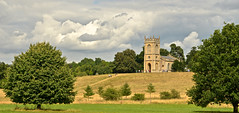 CROOME PARK (chris .p) Tags: nikon d610 church nationaltrust view worcestershire england uk scene clouds summer 2016 croome history july sky