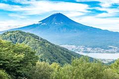 2016 The first snowcap Fuji (shinichiro*) Tags:    jp 20160925ds39306 20160925ds39186 2016 crazyshin nikond4s afsnikkor2470mmf28ged fuji september autumn yamanashi japan    lakekawaguchi
