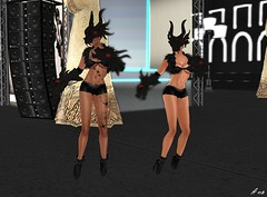 IMA - Sydney Fashion Week Ezura  063 (Photography by Ana) Tags: events models sl secondlife styles ima styling fashionweek sydneyaustralia fashionshows runwayshows ezura modelingshows