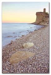 Cala del Xarco (Elas Gomis) Tags: sea costa tower beach coast mar torre stones cove playa alicante cala piedras lavilajoiosa xarco eliasgomis