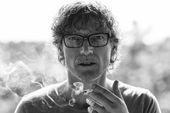 Smoke me! (Ray Zandvoort!) Tags: portrait selfportrait holland netherlands dutch amsterdam self retrato nederland 85mm explore omakuva autoritratto highkey division portret autorretrato ritratto zelfportret zandvoort  sjlvportrtt selfie portrt  portrtt  icapture muotokuva selvportrt  flickrunitedaward rayzandvoort division67 rayzr rayzrnl rayzreu