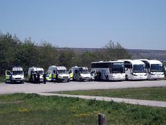 jenson +police (welsh coach) Tags: city travel museum wales volvo arm air south cardiff millenium fleet jenson aol staduim pontypool ocz 9162 berkhof dzf sunsundegui dy52 bl05