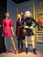 Saks: Framed, 3 Together (night) (Viridia) Tags: nyc newyorkcity urban newyork mannequin fashion frames mannequins dress manhattan nightshoot dresses fifthavenue saksfifthavenue saks stellamccartney storewindows newyorkny summerfall windowdisplays alexandermcqueen newyorkcityny burberryprorsum 5thavenuenyc sakscompany midtownnyc saksfifthavenuewindows rootsteinmannequins saksfifthavenuewindowdisplay saksfifthavenueflagshipstore saksfifthavenuewindowdisplays