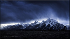 Teton Weather (Just Used Pixels) Tags: usa snow storm mountains weather clouds olympus wyoming teton e30 grandtetonnationalpark