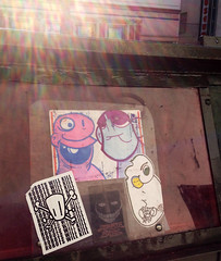 Why You Wanna Do That? (Question Josh? - SB/DSK) Tags: streetart la losangeles sticker stickerart stickers josh robots hollywood collab question rwk collaboration robotswillkill vedo deelove catv questionjosh ceito label228 zombiebass