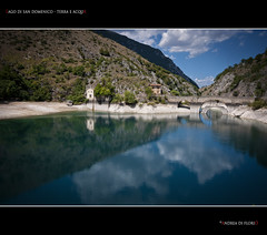Lago di san Domenico - Terra e acqua (Andrea di Florio (5,000,000 views)) Tags: 2 6 3 verde alberi lago 1 solitude nuvole estate 5 fiume 4 campagna pace acqua montagna paesaggio abruzzo laquila storico diga nubi scanno castrovalva serenit thegalaxy lagodisandomenico goledelsagittario mygearandmeplatinum blinkagain andreadiflorio flickrstruereflection2 flickrstruereflection3 flickrstruereflection4 flickrstruereflection5 flickrstruereflection7 flickrstruereflectionlevel1 flickrstruereflectionexcellence flickrsfinestimages1 rememberthatmomentlevel2 rememberthatmomentlevel3 flickrstruereflectionlevel4 me2youphotographylevel1 creativephotocafe