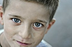 Blue Eyes (Samir Jabarov) Tags: nikon d5100 child eyes nikkor 50mm f18g nikond5100 nikkor50mmf18g