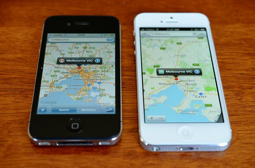 iPhone Maps by smjbk, on Flickr