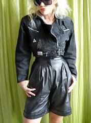 (LE CUIR DANS LA PEAU ET POUR TOUJOURS :)) Tags: leather short etsy cuir