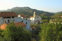 Montanejos - Castelln (federicojorda) Tags: espaa atardecer spain mediterraneo churches iglesia campanario castelln espadan mijares