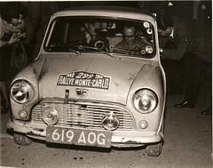 Austin Mini SE7EN- 1960 Monte Carlo Rally - 03 (Rally Pix) Tags: austin jack rally mini tommy se7en carlo monte hay wisdom 1960 619aog