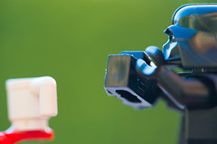 A close up on the photographer (Kalexanderson) Tags: stilllife trooper toys photography starwars play stormtrooper emotions familylife realtions