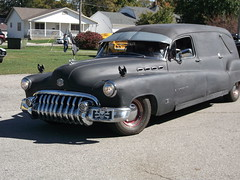 1950 Buick 8 hearse(8) (cjp02) Tags: show hot classic leaves car festival truck vintage indiana motorcycle restored rod custom veteran turning thorntown