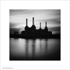 Battersea Power Station, London (Ian Bramham) Tags: white black london photo architect batterseapowerstation sirgilesgilbertscott ianbramham