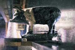 pig (vrot01) Tags: germantown pig tn bbq pork fujifilm overprocessed 35f14 xpro1 snapseed