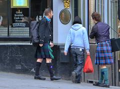 Only in Scotland (Tom Floyd) Tags: scotland edinburgh kilt jeansandskirts