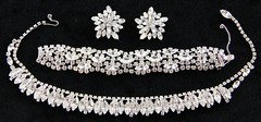 1003. Group of High End Rhinestone Costume Jewelry