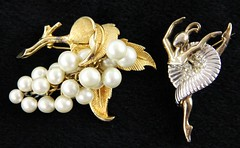 1010. Two Whimsical Brooches, Boucher