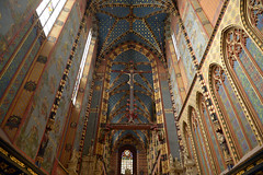 20120927 Basilica of the Virgin Mary, Cracow Polen   20 (ellapronkraft) Tags: polen cracow middleages moyenage thevirginmary gothicart basilicaof