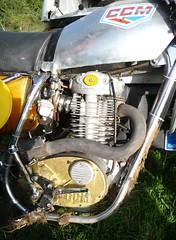 Moto Cross de Beauval en Caux Octobre 2010 CCM (barbeenzinc) Tags: british bsa ccm b44 anglaise b50 monocylindre unitsingle