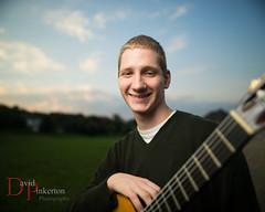 D.W. 2013 (David Pinkerton) Tags: portrait male guitar sb800 seniorportrait strobist singhrayvarind radiopopperjrx nikkor24mmf14g