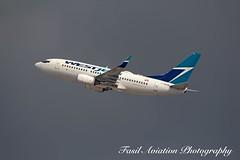 WestJet Boeing 737-7CT C-GWCN (MSN007) Tags: westjet boeing 7377ct cgwcn air airways airlines airport yyz cyyz 737 700 jet aircraft airplane airliner next gen