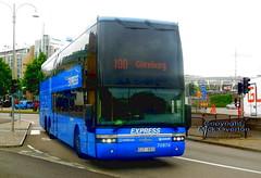2010 Scania K400 Van Hool nettbuss 70874 CJT860 Gothenburg route 100 (sms88aec) Tags: 2010 scania k400 van hool nettbuss 70874 cjt860 gothenburg route 100 nikon s6300