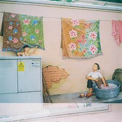 D1000008_lr (chi.ilpleut) Tags: 6x45 120 squareformat fujipro160ns film analogue ilovefilms twinlensreflex singapore august 2016 summertime oldhouse street ethnic neighbourhood outram oldest housing estates outdoor sunlight peacefulness