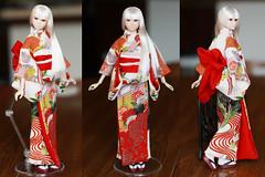momoko kimono (buboplague) Tags: momoko wake up fashion doll kimono pet works dolls