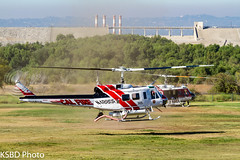 Cal Fire 305 UH-1H Super Huey (KSBD Photo) Tags: cal fire 305 uh1h super huey american heros airshow