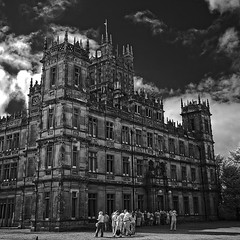 DSC_7652 copy (2): Highclere Castle (Colin McIntosh) Tags: nikon d80 infra red kolari 720nm filter 1685mm vr highclerecastle downtonabbey
