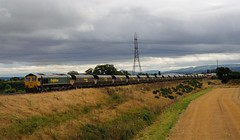 66-507-6E72-Battlefield-Shrewsbury-22-8-2016 (D1021) Tags: shed class66 66507 freightliner 6e72 coal battlefield battlefields shrewsbury nikond300 d300 pole poleshot