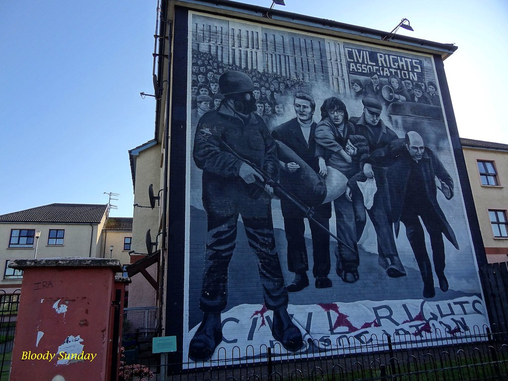 The world 39 s best photos of bogside and irlande flickr for Mural irlande