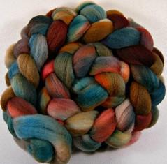 Sprucewood Falkland (yarnwench) Tags: wooltop handdyedwool spinning felting yarnwench