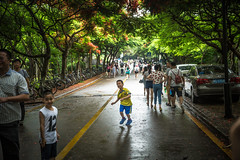 Run Freely (Dio Wong) Tags:   diophoto dio china diowong travelphoto canon travel calligraphy street    life  kid running