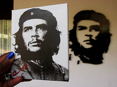 Che Guevara Art and Mural (shaire productions) Tags: cuba image picture photo photograph travel street urban world traveler cuban caribbean island cheguevara art artistic creation creative cheart silkscreen