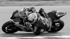 Johann Zarco (Laurent Quérité) Tags: noiretblanc blackwhite moto vitesse monochrome johannzarco motocyclisme canonef100400mmf4556lisusm canoneos7d r6 2roues sportmécanique polemécanique alès gard france yamaha canonfrance