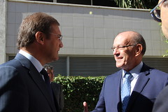 Pedro Passos Coelho visita a Incubadora de Empresas do TagusPark
